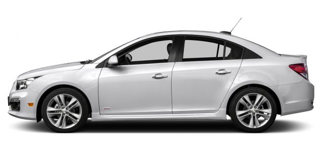 Chevrolet Cruze 2015 Side View